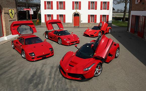 La dernière Ferrari bat un record aux enchères avec 7 millions de dollars