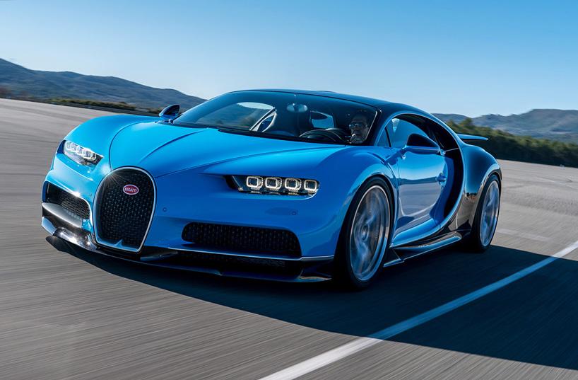 Bugatti a lancé la production de la Chiron en 70 exemplaires !