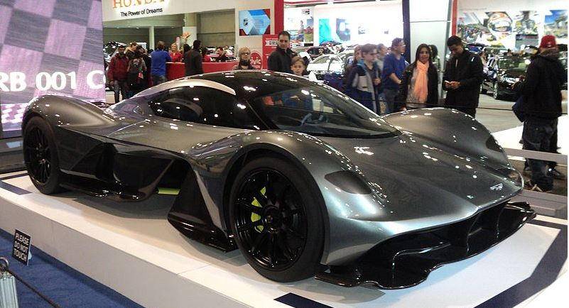 Aston Martin AM-RB 001 Valkyrie : une supercar presentée au salon de Genève