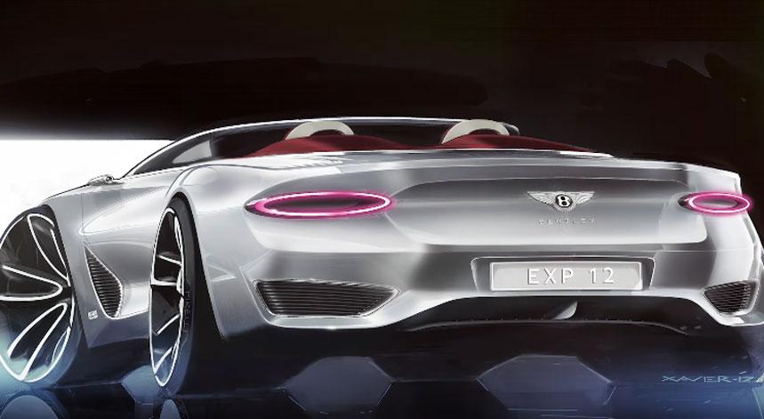 Bentley présente une voiture 100% électrique : L'EXP 12 Speed 6e concept