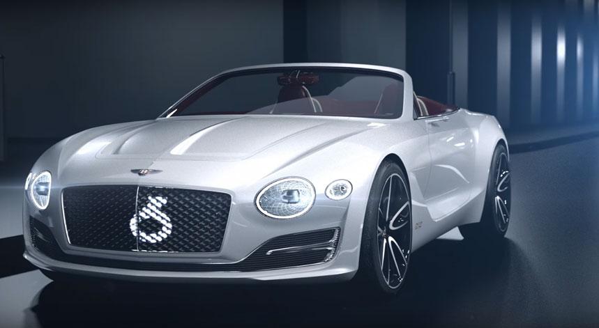 bentley pr sente une voiture 100 lectrique l 39 exp 12 speed 6e concept blog de luxury club. Black Bedroom Furniture Sets. Home Design Ideas