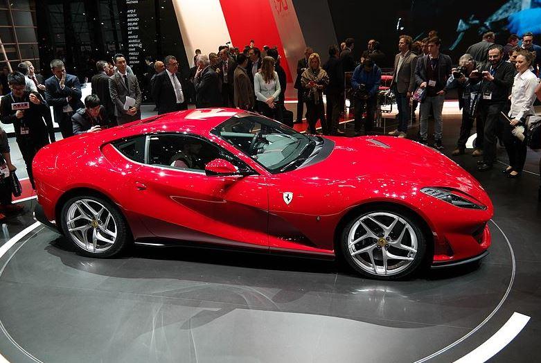 Ferrari dévoile la  812 Superfast au salon de Genève 2017