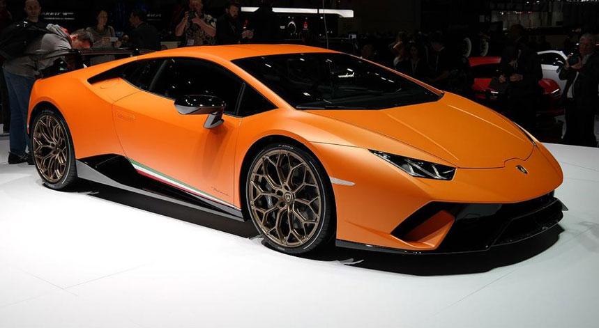 Lamborghini dévoile la Huracan Performante : 640ch sous le capot !