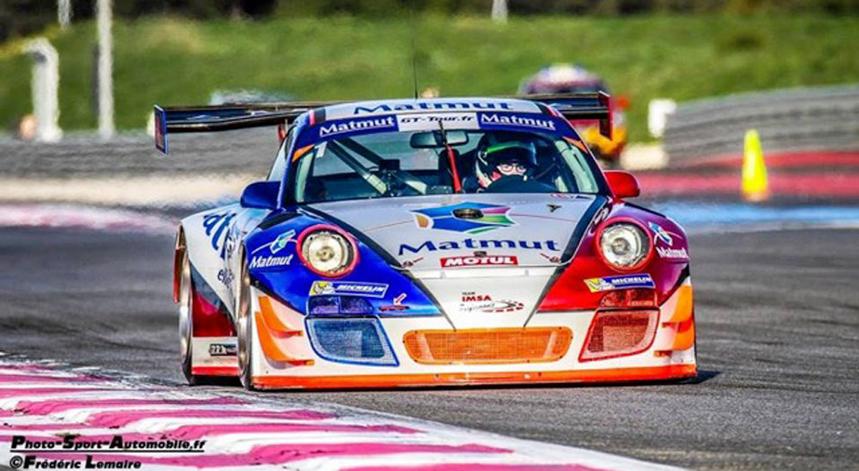 Olivier Pernaut a conduit la nouvelle Porsche 991 GT3 RS de Luxury Club