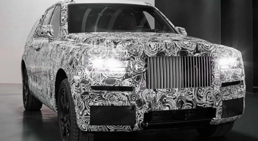 Rolls-Royce lancera le prestigieux SUV Cullinan fin 2018