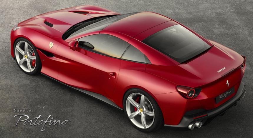 La Ferrari Portofino 2018 remplace la California T