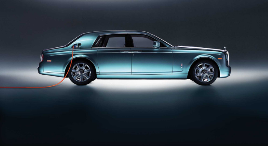 Rolls-Royce joue la carte de l'électrique pour la mythique Phantom