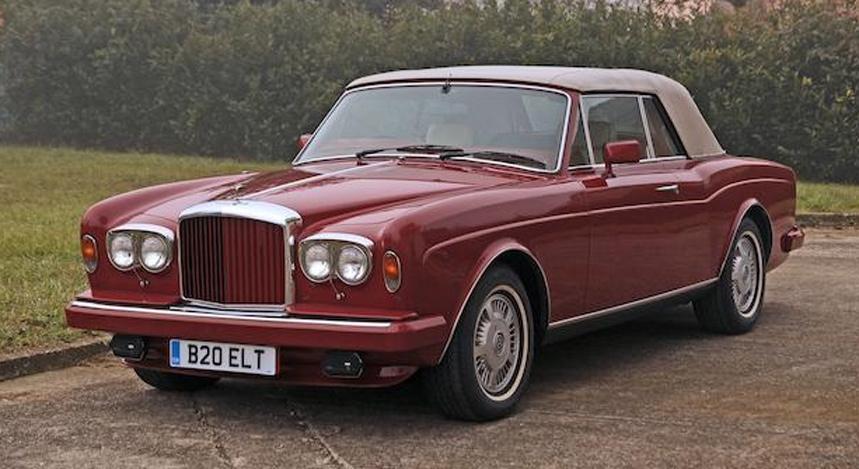 Actualité : Elton John vend sa Bentley S1 Continental Sport Saloon 1959