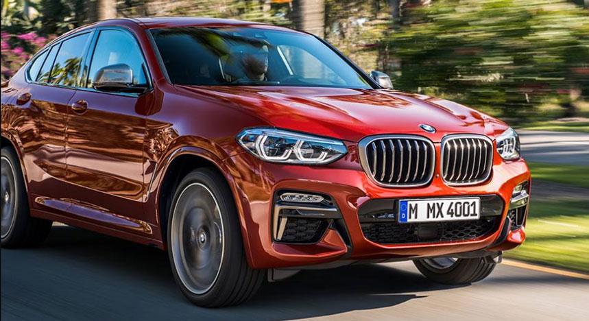 BMW X4 2019 : tout sur le nouveau cru BMW
