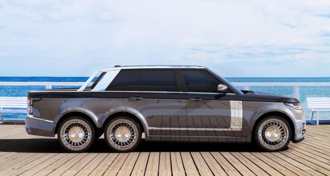 Range Rover d'exception à 6 roues