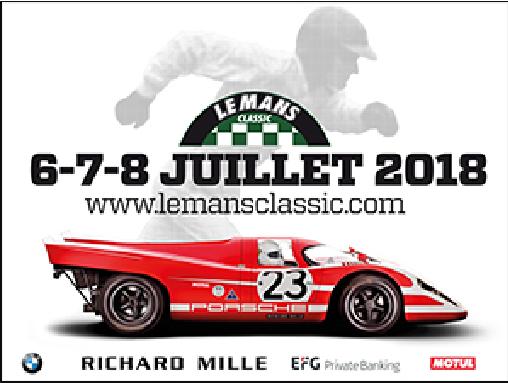 Les moments forts du Mans Classic 2018