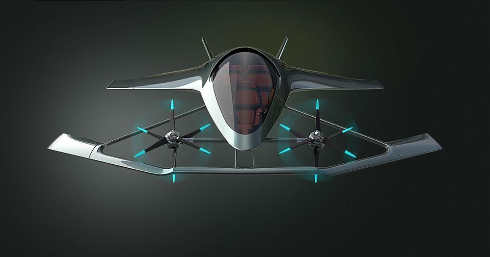 Volante Vision Concept d'Aston Martin : une conduite de luxe dans les airs