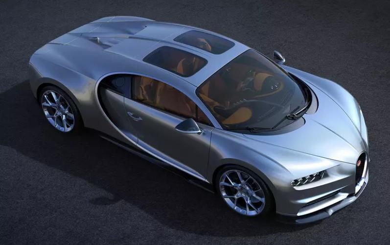 Sky View, la nouvelle Bugatti Chiron