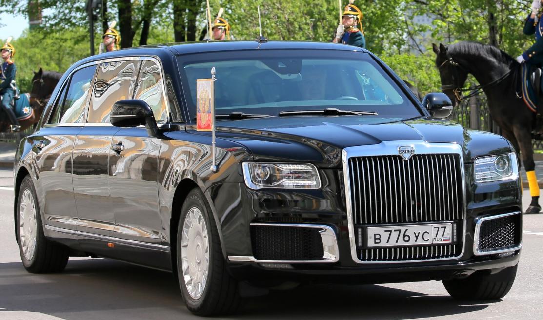 Aurus Senat : le luxe « made in Russie »