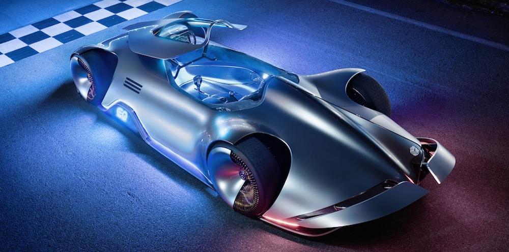 Mercedes-Benz Vision EQ Silver Arrow: un concept-car électrique hallucinant