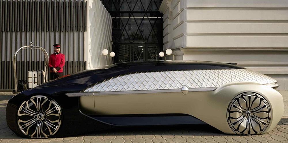 Renault innove avec la voiture autonome version grand luxe l'EZ-Ultimo