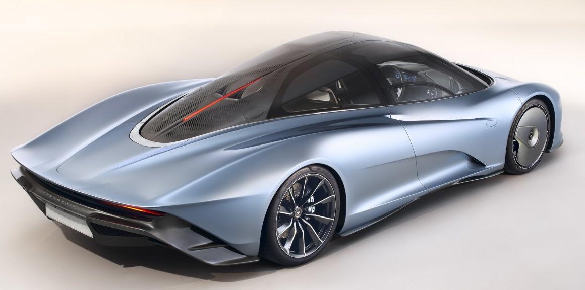 McLaren Speedtail : une Edition Limitée époustouflante