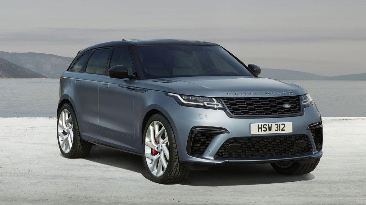 Découvrez le nouveau Range Rover Velar SVAutobiography