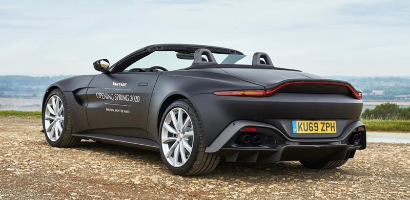 Aston Martin Vantage Roadster un cabriolet prévu pour 2020