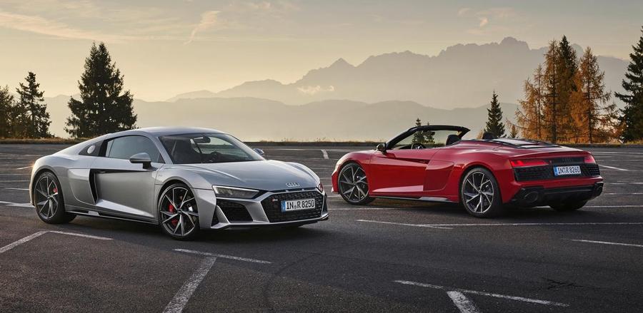Zoom sur la nouvelle Audi R8 RWD propulsion