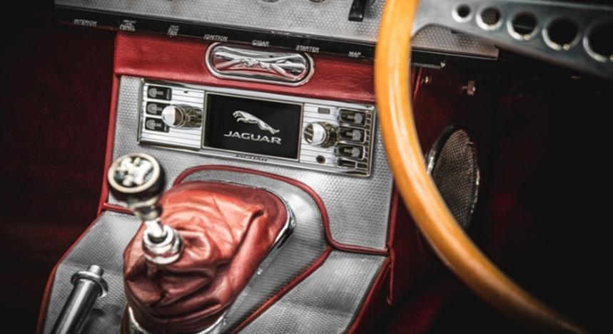 Jaguar se lance dans les systèmes multimédias pour ses anciens modèles