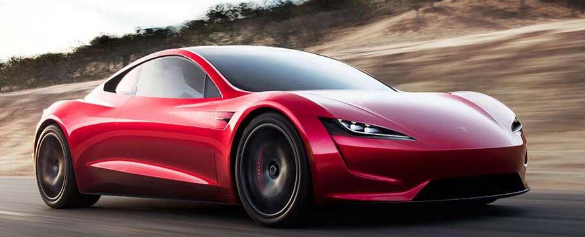 Découvrez le nouveau Tesla Roadster à propulseurs de fusées SpaceX !