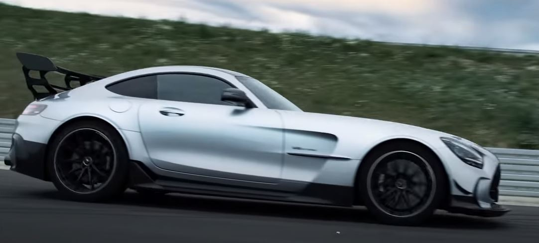 Mercedes : la nouvelle AMG GT Black Series promet de faire sensation!