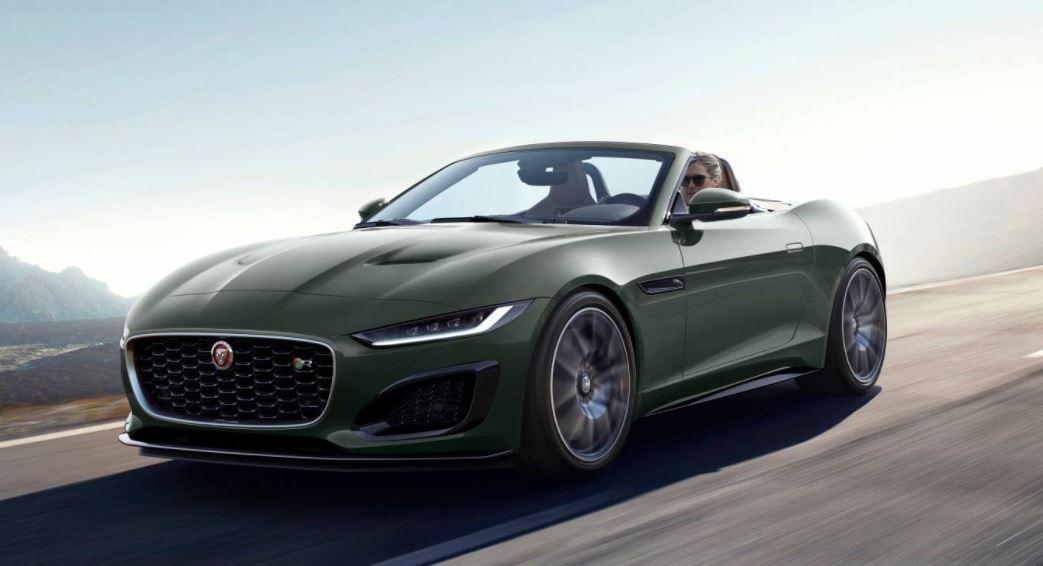 F-Type Jaguar édition 60, un hommage à la Type-E pour les 60 ans de la marque
