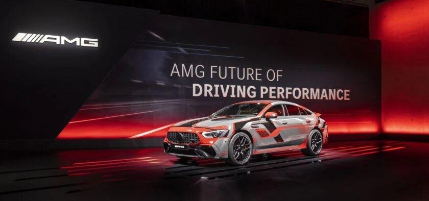 La nouvelle Mercedes-AMG C 63 hybride offrirait jusqu'à 650 chevaux