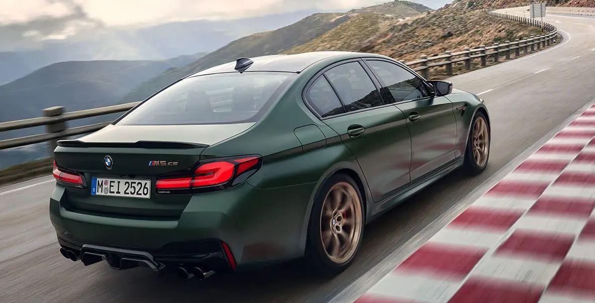 La nouvelle berline BMW M5 CS arrive